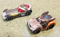 Hotwheels Car Lot: 2 GUARDIANS OF THE GALAXY Rocket Raccoon & Star-Lord 2014