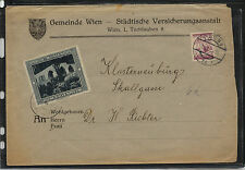 Austria  cover   ,  large  label   local use            MS0715
