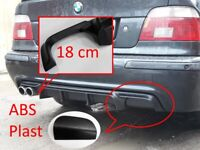 BMW E39 M5pack Heckansatz Heckspoiler Diffusor 4-2-Rohr einzigartiges Design