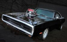"""dodge charger hot rod tuning muscle car Poster 24""""x36"""" HD"""