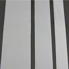 HI VISIBILITY REFLECTIVE SEW ON TAPE 10/20/30/50mm SILVER 1/2 /5 /10/ 100M