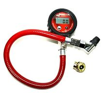 Longacre Digital Tire Air Pressure Gauge 0-60 PSI Go Kart Racing Tires Mini Bike
