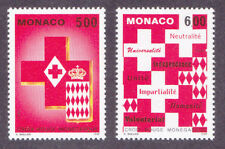Monaco  1993  Red Cross pair. SG2151-2, Scott 1880 - 81, Michel 2149 - 50  MNH