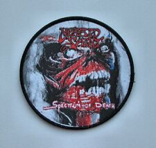 MORBID SAINT [black]  --- Woven Patch / Sadus Kreator Possessed Merciless