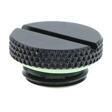 1Pc Black G1/4 Thread Low Profile Plug for PC Water Cooling Radiator Reservoir