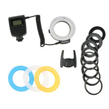 RF-550D Macro 48 LED Ring Flash Light for Nikon Canon Olympus DSLR Cameras