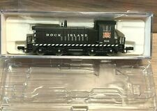 N Scale Life Like Locomotive Rock Island SW8 #818 RI 7956