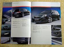 Vauxhall Vectra C & Signum Irmscher Brochure Nov 2006
