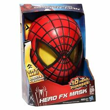 SPIDERMAN HERO FX MASK WITH 10 HERO PHRASES SPIDER-MAN EYES LIGHT UP NEW IN BOX!