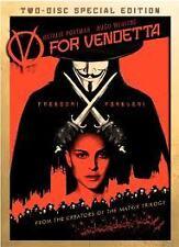 V FOR VENDETTA DVD NEW+SEALED REG 1 ACTION CRIME NATALIE PORTMAN HUGO WEAVING