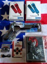 🎮MOVE Motion GUN, 4 x Jackets, Ammo Clip, Charger +BUNDLE🎮PS3🎮PS4🎮PSVR🎮58🎮