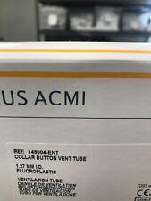 Gyrus Acmi 145004-ENT Collar Button Vent Tube 1.27mm I.D. 30pcs
