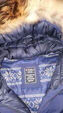 Winterjacke SORLA mit Echtpelz dunkelblau Übergröße Gr.48 - TOP Marke/Qualität!