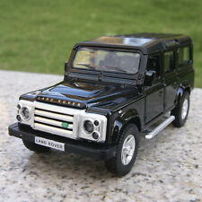 "Land Rover Defender 5.3"" Model Cars Gift Alloy Diecast Pull-back motor Toy Black"