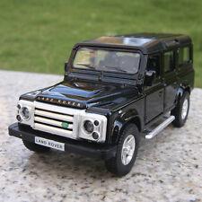 "Land Rover Defender 5.3"" Model Cars Gift Alloy Diecast Pull-back motor Toy Black"