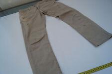 PLEASE Damen Hüft Jeans Hose Stretch Skinny Gr.XS used look Risse Röhrenjeans
