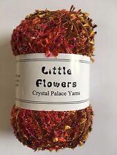 "Crystal Palace Yarns Little Flowers #8127 ""Mai Tai"" Metallic Mini Flag Yarn"