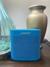 1 (one) BARELY USED BOSE SOUNDLINK COLOR II 2 WIRELESS SPEAKER - AQUA BLUE