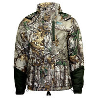Men's Yukon Gear Realtree Camo Hunting Activity Hoodie Jacket With Scent Factor