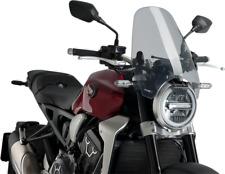 Puig Smoke Windshield for 88-19 Aprilia BMW Ducati Honda Daelim Cagiva