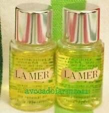 2 LA MER THE RENEWAL OIL .17 oz 5 ml x 2 = 10 ml travel size authentic NEW $90+