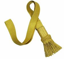 Sword knot Gold French Napoleonic Guard Gold Mylar Fringe R1702