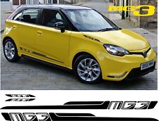 MG3 MG 3 VTi side and bonnet Stripes Decals Stickers replacement any colour
