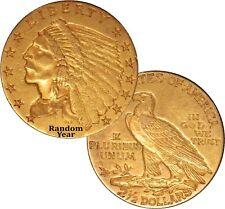 Random Year (1908 - 1929) $2.50 Indian Head Quarter Eagle Gold XF