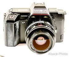 MINOLTA 5000 avec zoom  MINOLTA 35-70 mm f4  macro (1985)