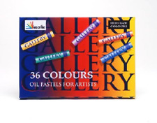 Inscribe Gallery Oil Pastels - Assorted Colours, Pack of 12