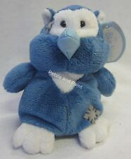 "Me To You My Blue Nose Friend 4"" Small Plush Soft Toy Midnight the Owl No.72"