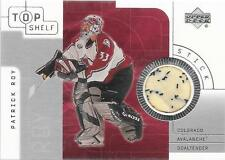 2001 Top Shelf - PATRICK ROY - Game Used Stick Relic - AVALANCHE