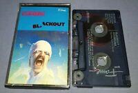 SCORPIONS BLACKOUT cassette tape album T7037
