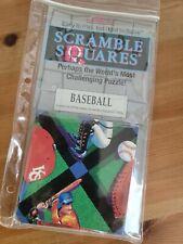 B Dazzle Baseball Scramble Squares Puzzle Brain Teaser Game 90s