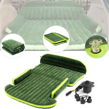 Inflatable Mattress Travel SUV Car Back Seat Air Pump Sleep Bed Durable Camping