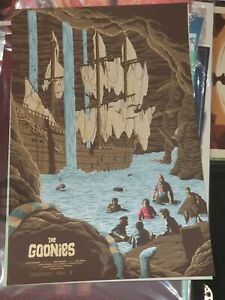 The Goonies - Limited Edition Screen Print by Florey nt Mondo
