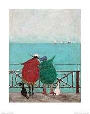 We Saw Three Ships Come Sailing By Sam Toft Fantasy Art Print 16x20
