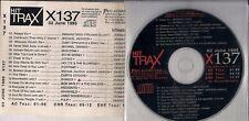 HIT TRAX X137 1995 - CD PROMO 17 Tracks Madonna M.Jackson Incognito Pulp