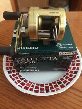 SHIMANO Calcutta 200B Nice almost near mint  3 Ball Bearing Used once