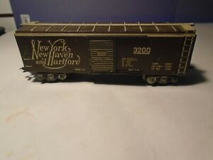 MARX 3200 #3555 NEW YORK NEW HAVEN & HARTFORD SCALE BOX CAR