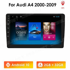 Android 10.1 Car DVD Player Radio GPS Navi Stereo Wifi For Audi A4 2002-08 2+32G