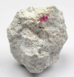 BIXBIT Roter Beryll Violett Claims Wah Wah Mountains Utah USA  -  0,4CM LANG !