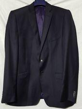 BNWT DANIEL HECHTER TWILL STRETSH TRAVEL JACKET NAVY  - 44L - RRP £199