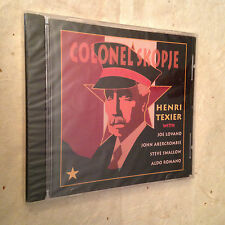 HENRI TEXIER CD COLONEL SKOPJE ECD 22118-2 1995 JAZZ