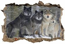 Stickers muraux 3D Loups 23840 23840 Art déco Stickers