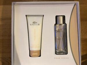 Lacoste pour femme, Duftset Eau de Parfum und Body Lotion, neu