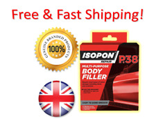 Isopon P38 Body Filler 4 x 25ml sachets Tube Easy Sanding | Made In UK