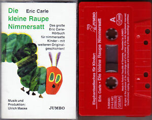 MC Die kleine Raupe Nimmersatt - Das große Eric Carle-Hörbuch - JUMBO RAR!