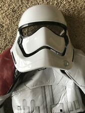 Disney Store Costume Stormtrooper Star Wars Child Size 3 Full 6 Piece Suit