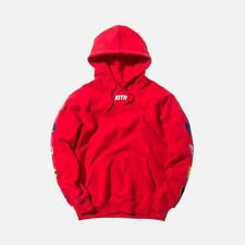 Kith x Power Rangers Hoodie Men's Large RARE!! Red Hooded Sweatshirt